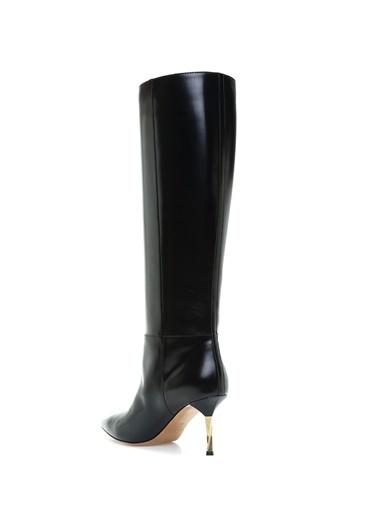 İnce Topuklu Deri Çizme-Valentino